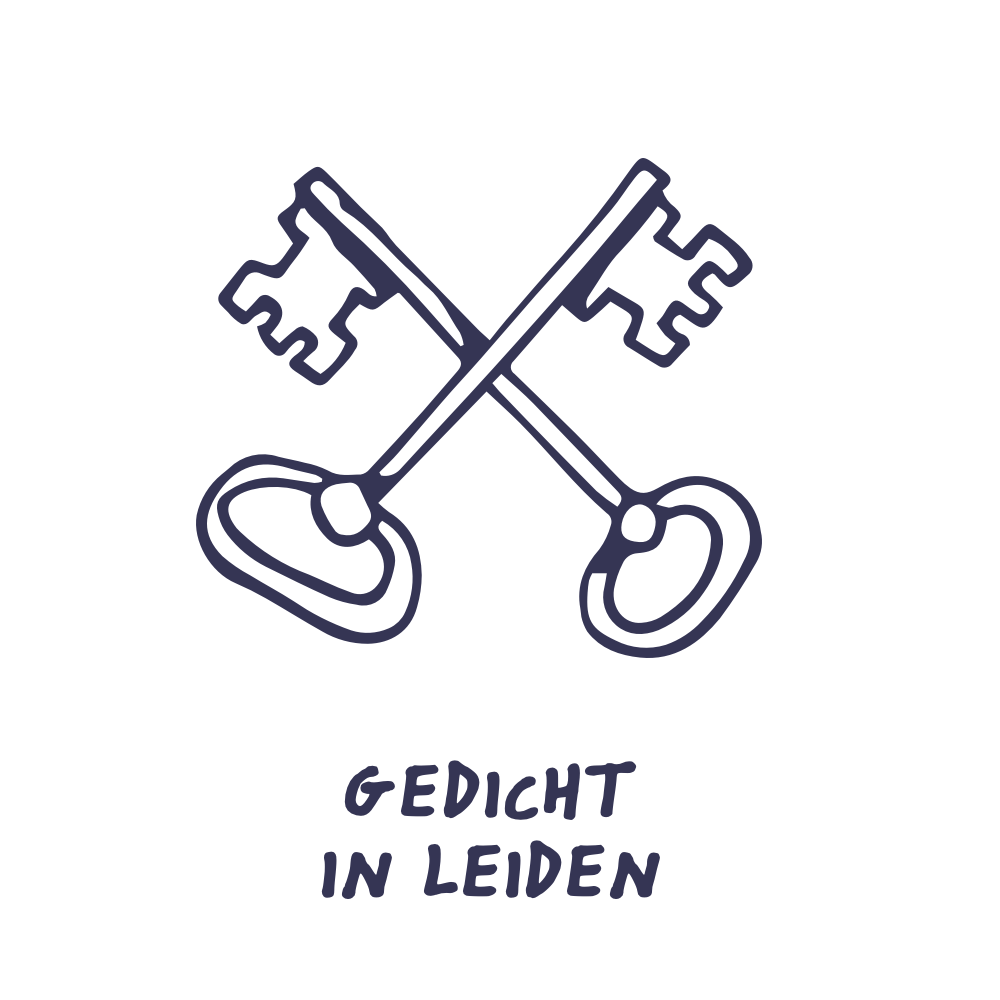 illustratie: gedicht in leiden